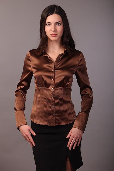 Блузка Шоколадного Цвета В Екатеринбурге
