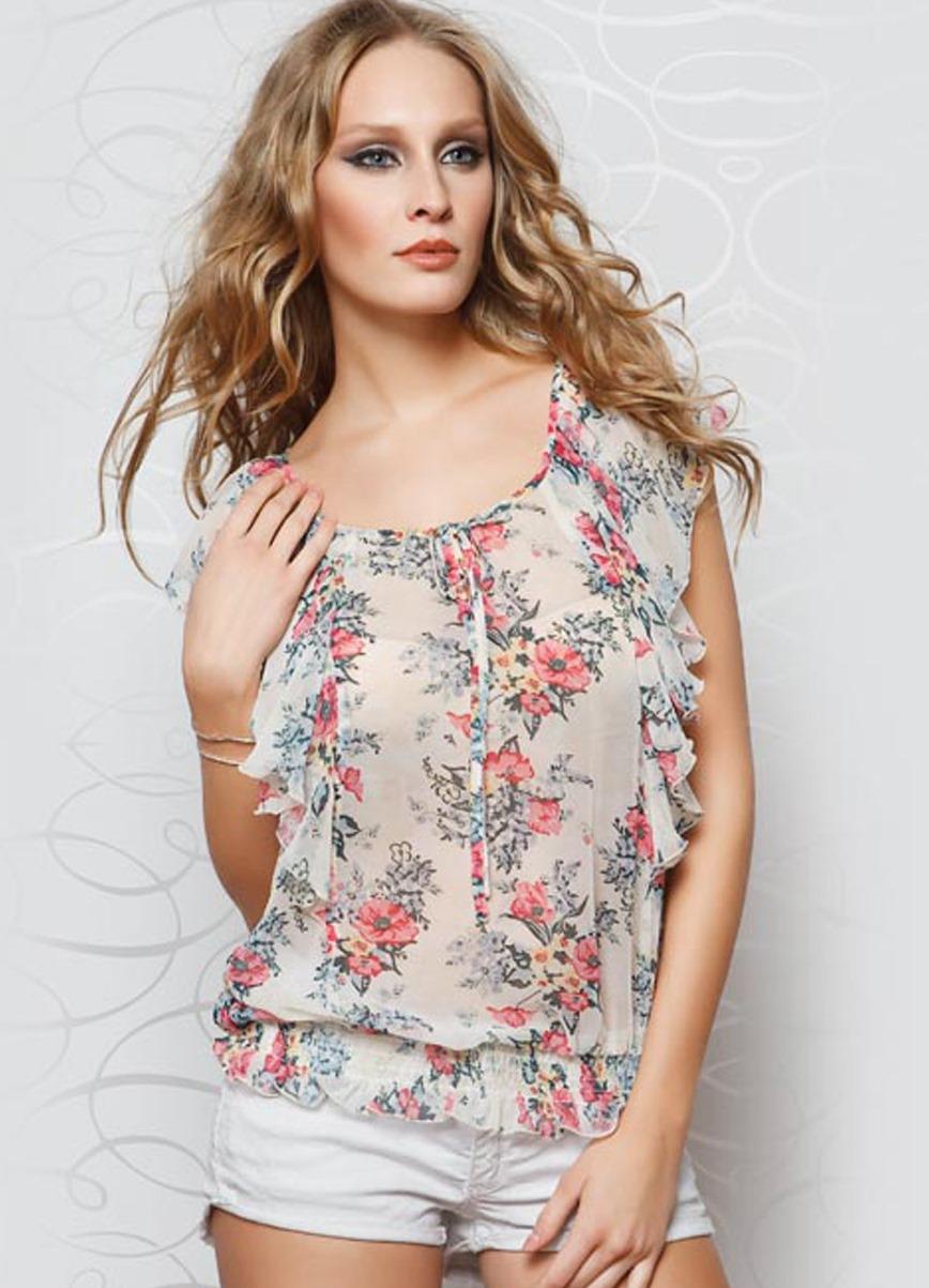 Купить шифоновую блузку недорого
