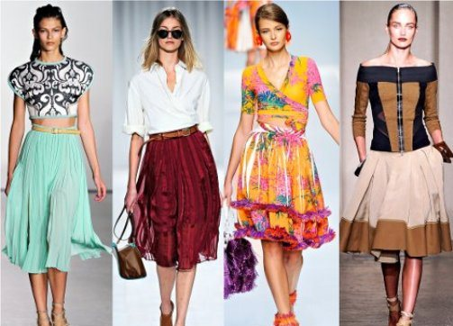 Летние юбки - это одежда долгожданного лета, когда женщина, наконец-то и в таких юбках не жарко