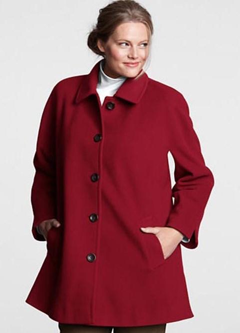 Модели пальто для полных 2013 3