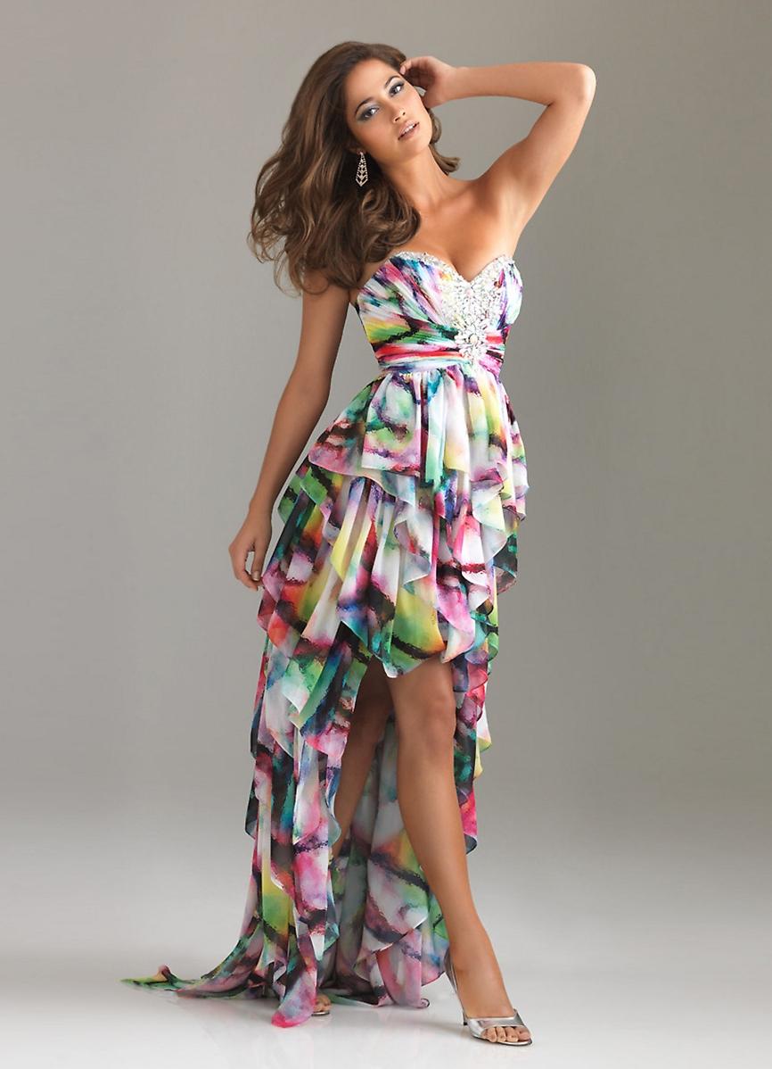 Шифоновое платье фасон
