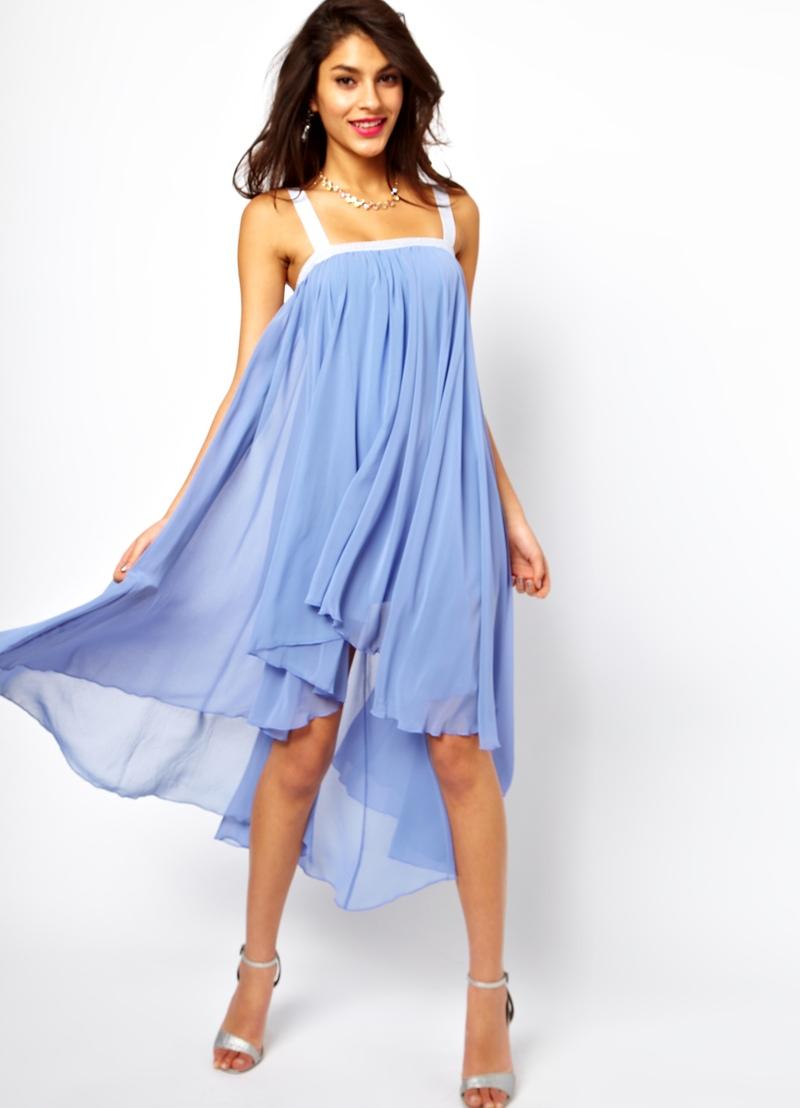 Идея для платья из шифона