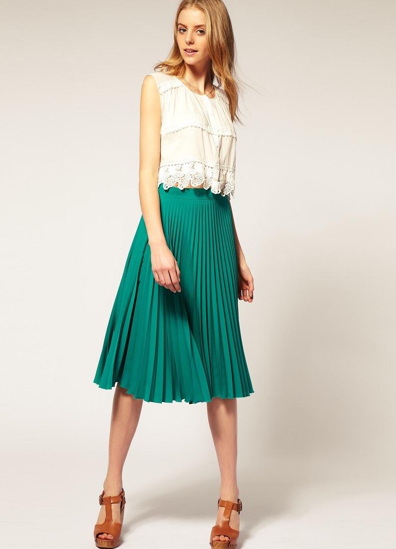 Модели юбок для женщин