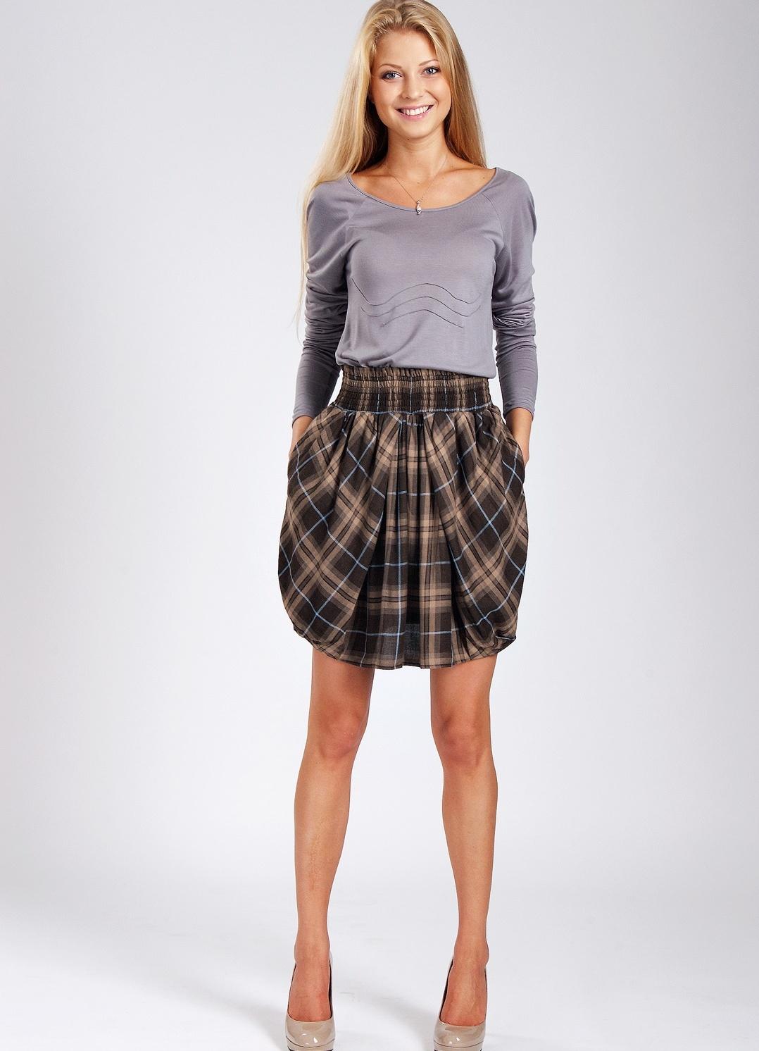 Фасоны юбок для худых девушек