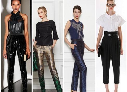 Брюки Мода Зима Осень 2015 С Доставкой