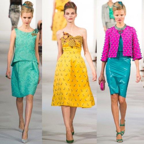 Модные цвета весна лето 2013