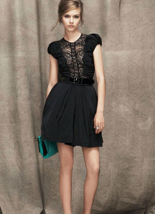 Модные фасоны платьев 2013