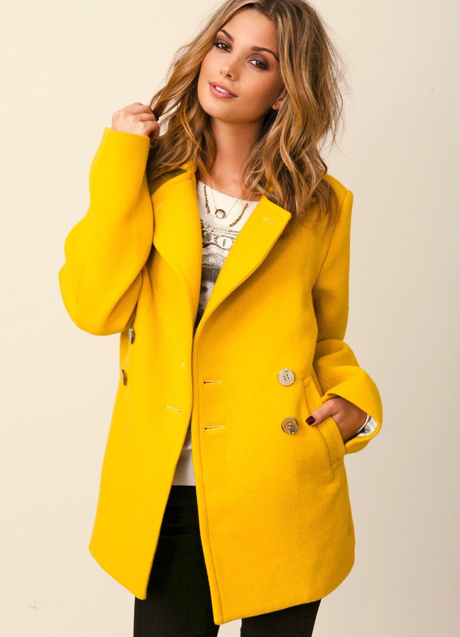 Модные пальто весна
