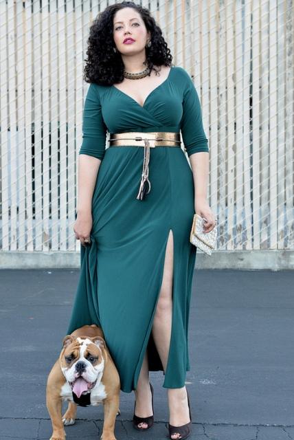 Модные платья для полных женщин - Стильные платья 2014.