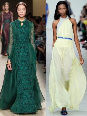 Этот тренд сезона весна-лето 2015 года характеризует вечерние платья и повседневные модели в романтическом стиле. Дизайнеры предлагают модели, оголяющие