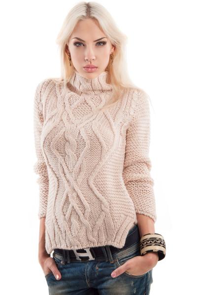 Зимние свитера женские