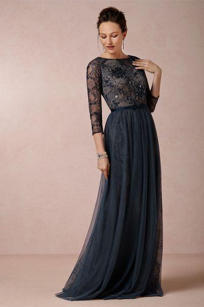 Чтобы платье ball gown выглядело скромно и презентабельно стоит подобрать крайне спокойный цвет. Главное чтобы ткань была максимально плотной