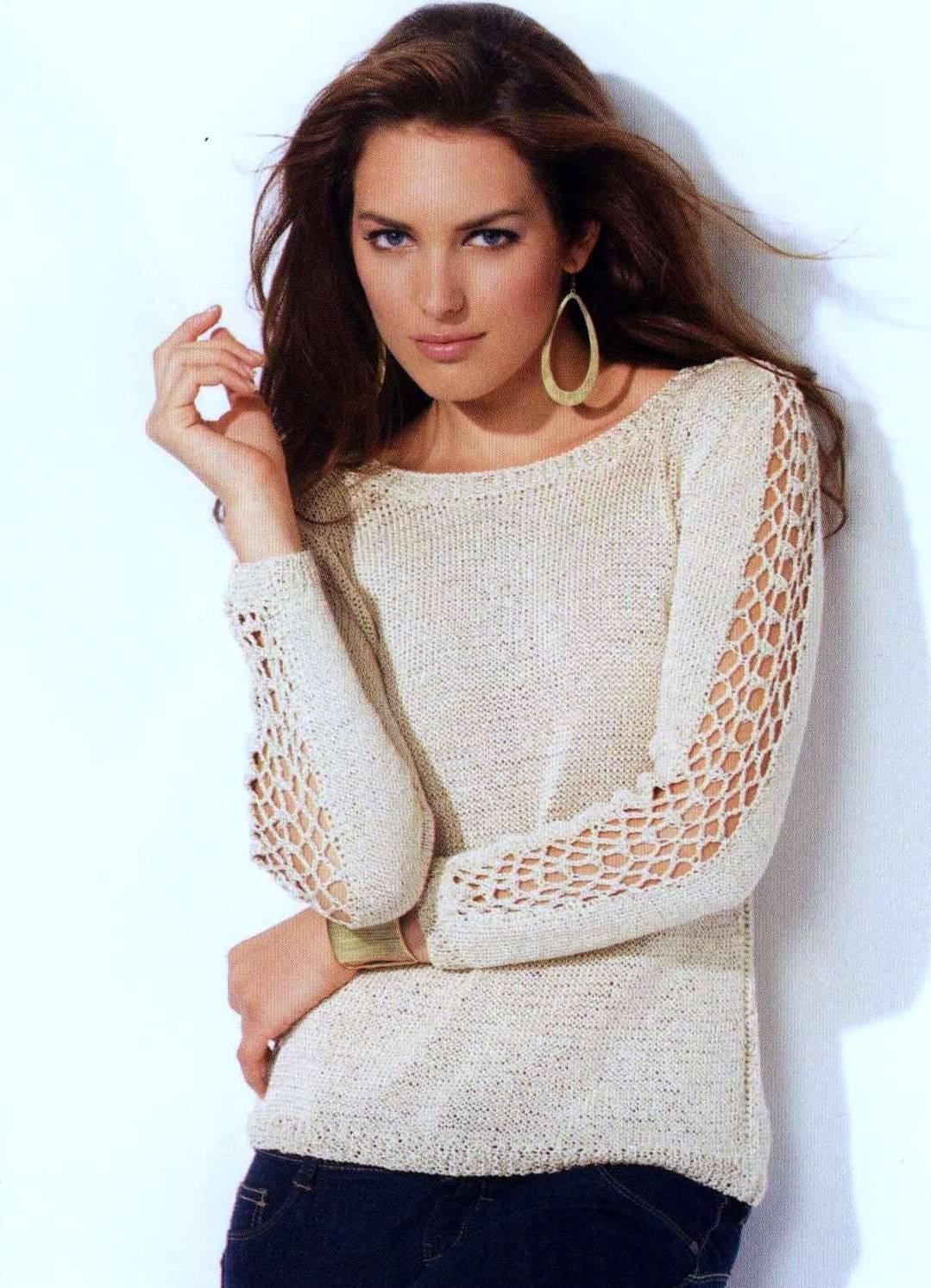 модные вязаные свитера 2013 1 | Вязание Спицами и