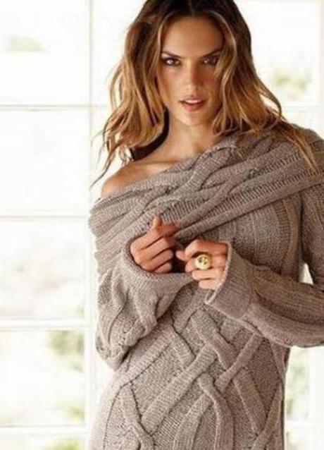 модные вязаные свитера 2013 9