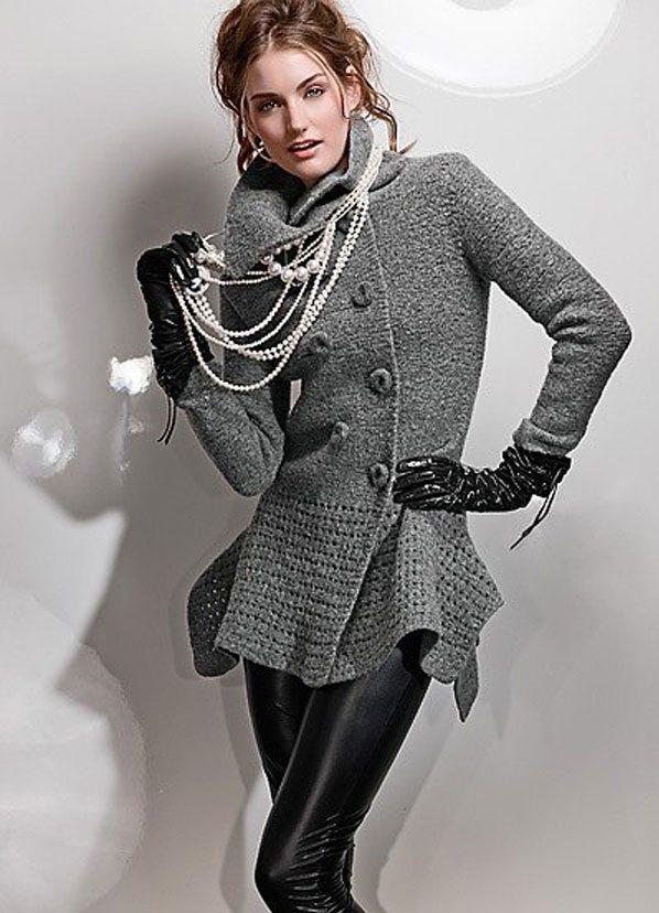 Вязание модных жакетов для женщин