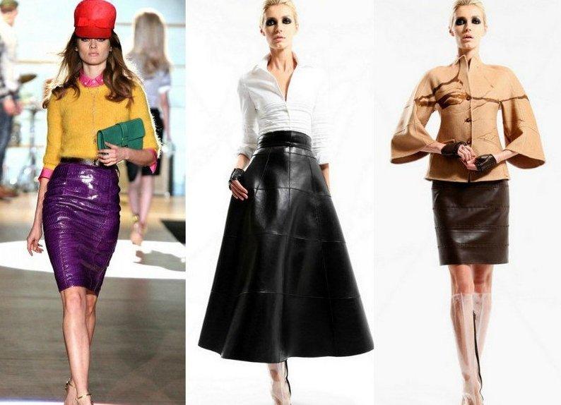 Все модные юбки показать