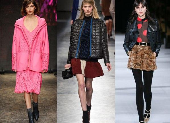 Женские куртки осень 2015