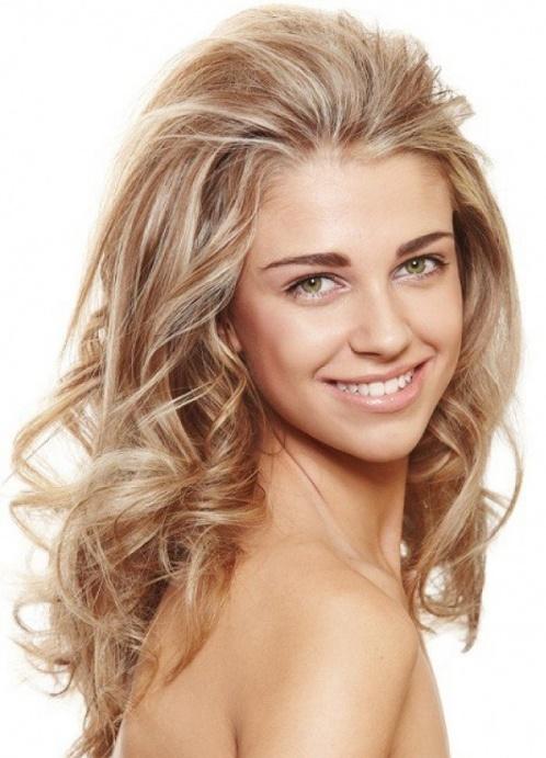 Цвет волос молочный блонд