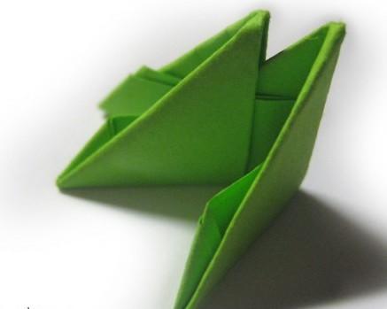 модульное оригами змея 2