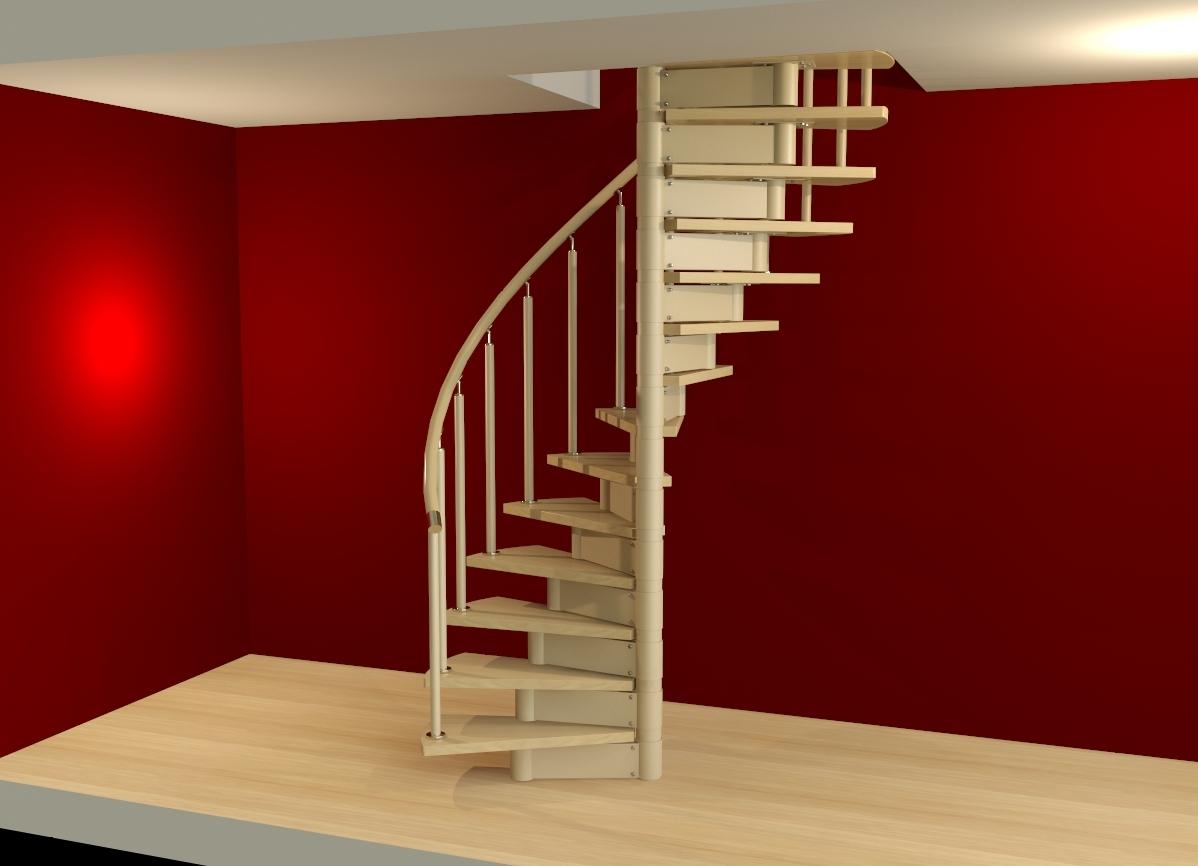 Как сделать маленькую лестницу на второй этаж
