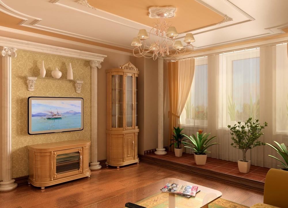 Декор зала в квартире своими руками 28