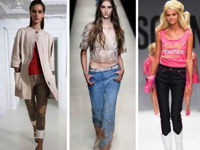 Молодежная мода в этом сезоне отказалась от классических силуэтом. Дизайнеры предлагают надевать костюмы в мужском стиле, блузку рекомендуют заменить