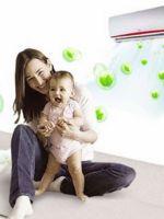 Можно ли включать кондиционер при грудном ребенке?