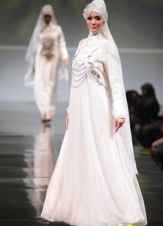 Мусульманские свадебные платья 1