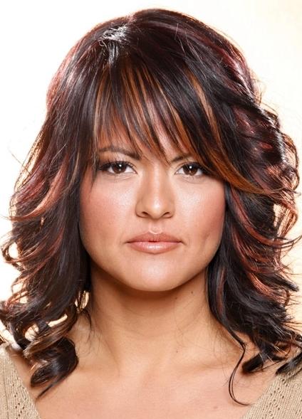 колорирование волос на темные волосы фото