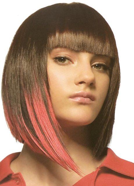 Женские причёски с названиями