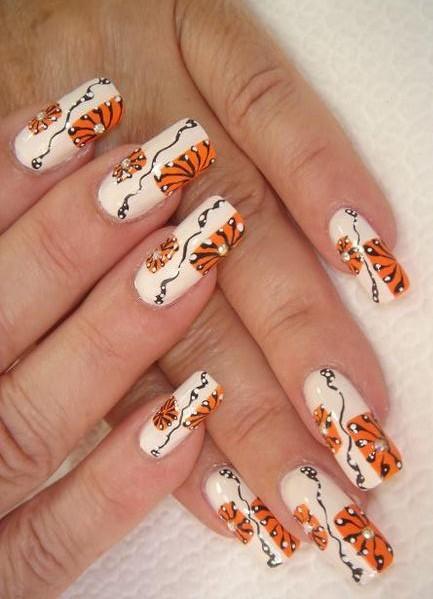 Наклейки на ногти своими руками в домашних условиях