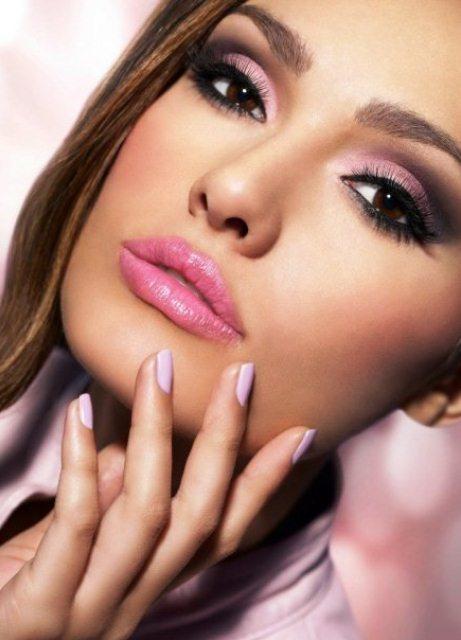 красивый макияж для узких