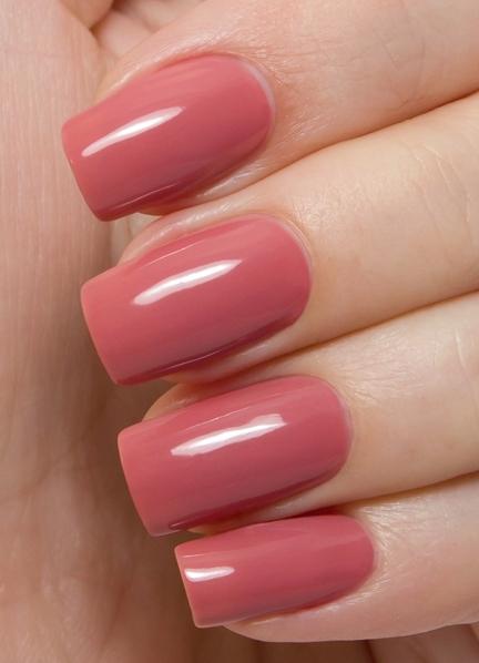 Оттенки розового цвета для ногтей