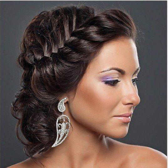 Прическа на выпускной с короткими волосами своими руками