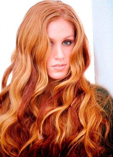 колорирование волос фото на русые