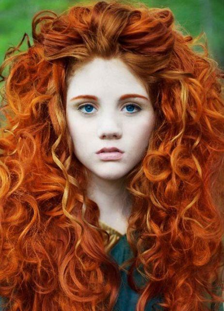фото красивых рыжих женщин