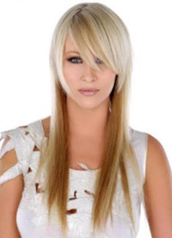 Причёска на длинные редкие волосы