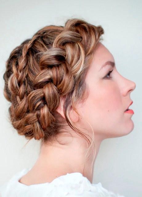 заплести косу на длинные