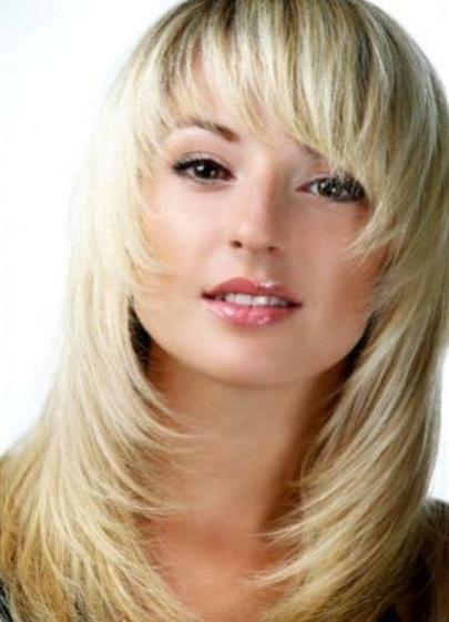 Виды каре на средние волнистые волосы - c