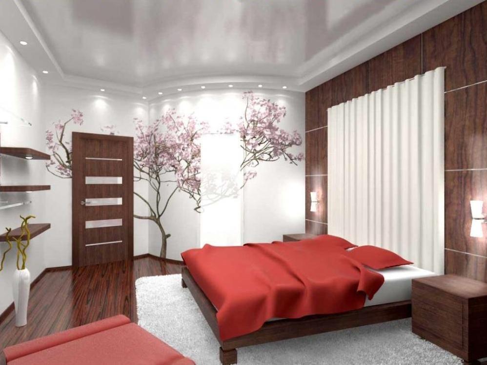 Как сделать ремонт потолка в спальне