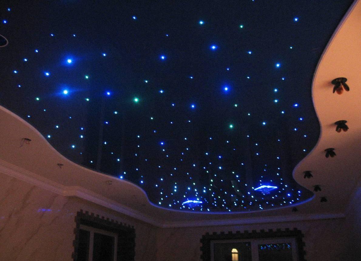 Дизайн звездного потолка