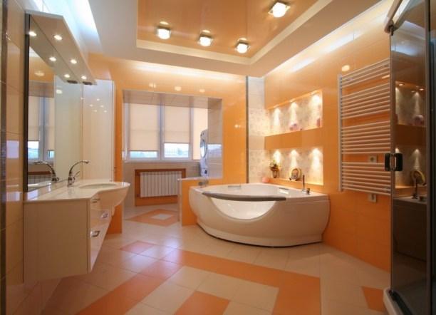 Ванная комната дизайн потолок