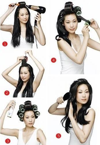 Как в домашних условиях уложить феном волосы