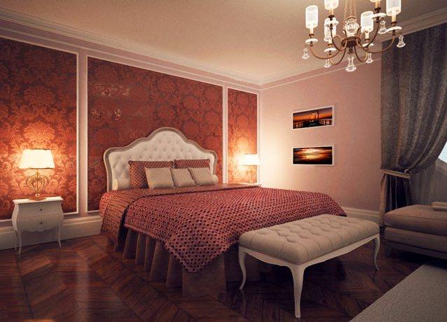 Фиолетовая спальня  воплощение роскоши и изыска 55 фото