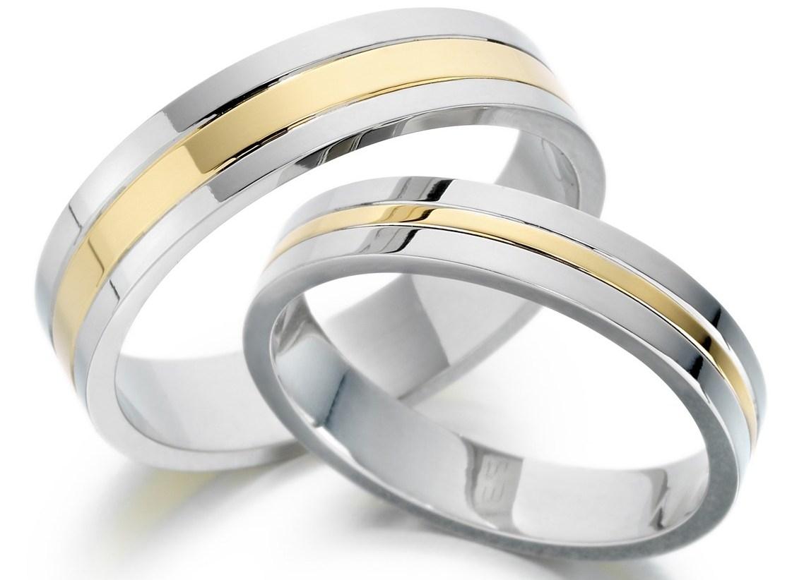 Кольца обручальные серебро мужские