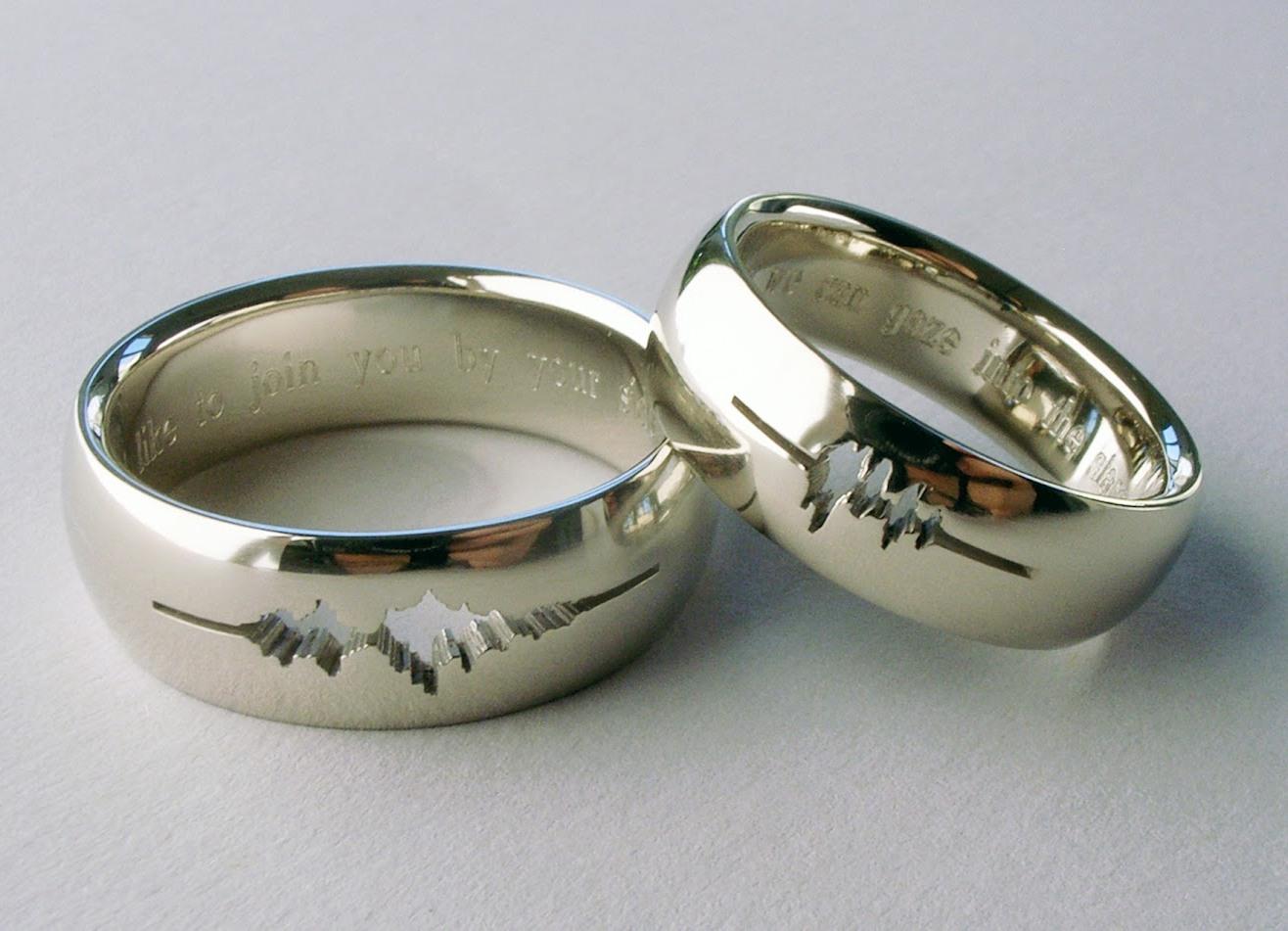 Обручальные серебряные кольца купить
