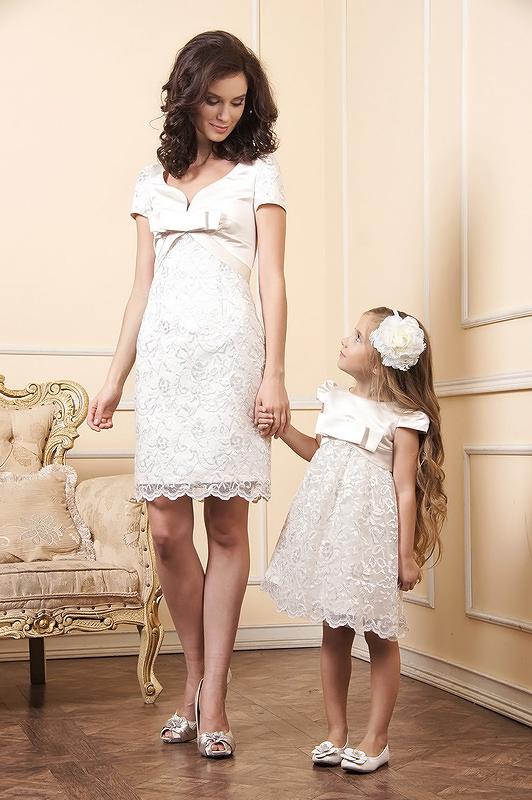 платья эффект стиль