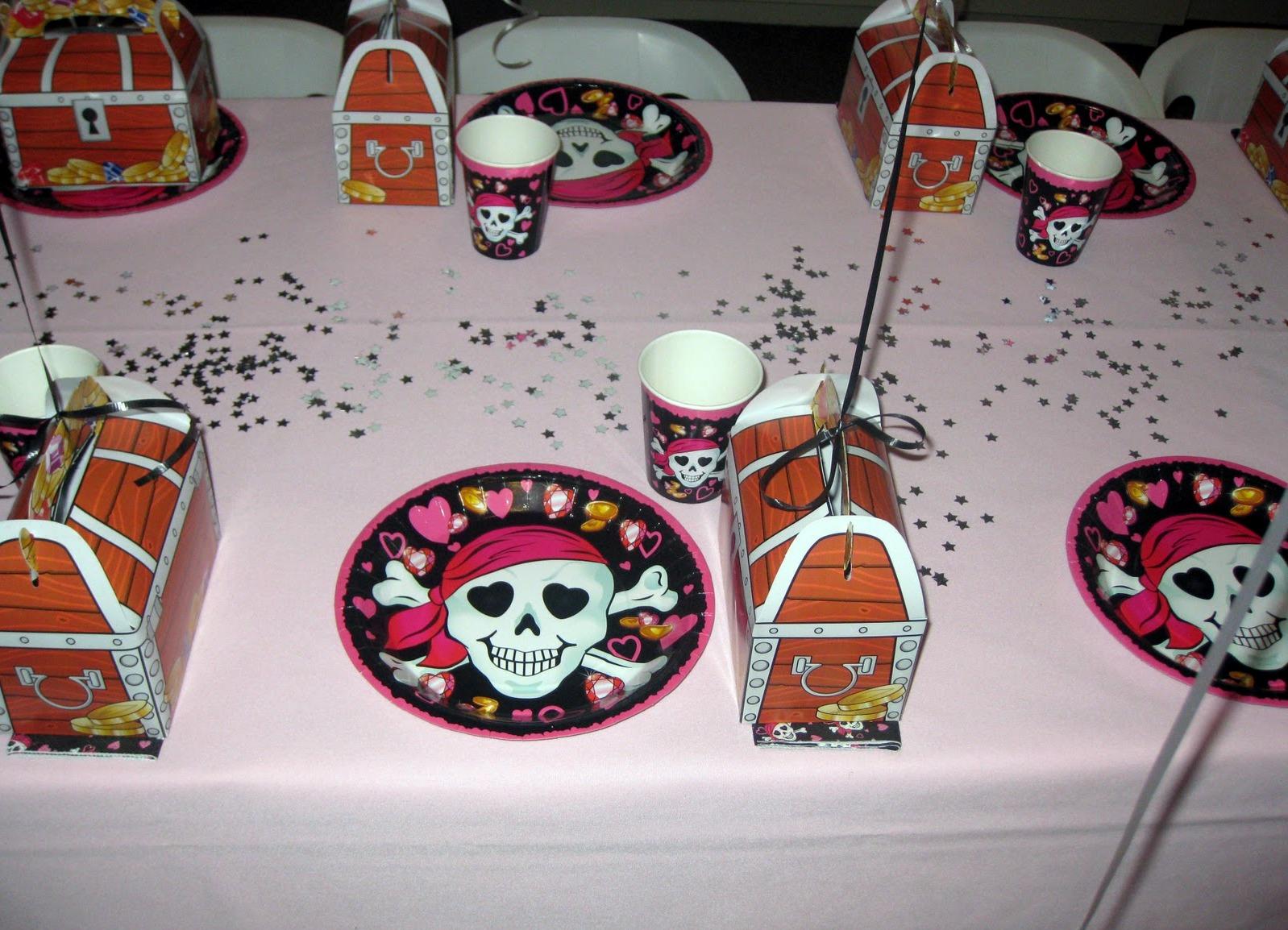 Пиратская вечеринка для детей 100