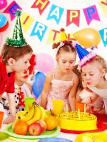 Оформление стола на детский день рождения