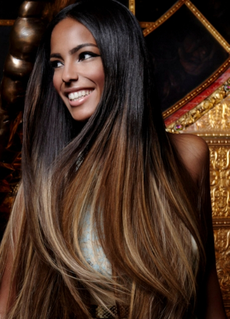 Картинки амбре окрашивание волос фото на темные волосы до и после - 2eefa